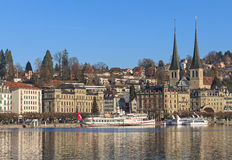 Lucerne cityscape Royalty Free Stock Image