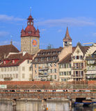Lucerne cityscape Stock Photography