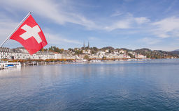 Lucerne Cityscape Stock Images