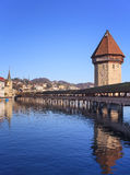 Lucerne cityscape. Lucerne, Switzerland - cityscape in winter Royalty Free Stock Photography