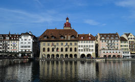 Lucerne downtown Stock Images