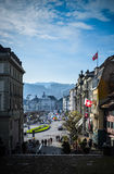 Lucerne downtown Royalty Free Stock Image