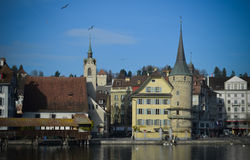 Lucerne downtown Royalty Free Stock Photos
