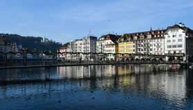 Lucerne downtown Stock Image