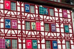 Lucerne huvudstad av kantonen av Lucerne, centrala Schweiz, Europa Arkivfoto