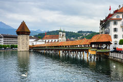 Lucerne i Schweiz arkivfoto
