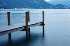 Lucerne lake Stock Images