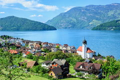 Lucerne Lake, Switzerland Stock Photo