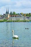 Lucerne lake Switzerland Stock Photo