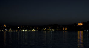 Free Lucerne Night Skyline Royalty Free Stock Image - 10578896