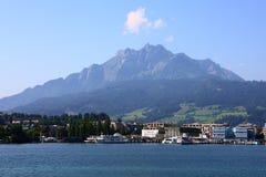 Lucerne sjö Royaltyfri Foto