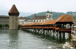 Lucerne switzerland Royalty Free Stock Images