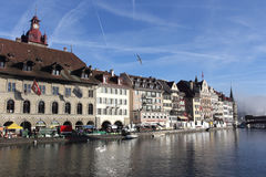 Lucerne. Switzerland Royalty Free Stock Photography