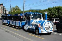 City Tour Shuttle Train, Lucerne royalty free stock photos