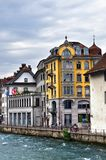 Lucerne in Switzerland Royalty Free Stock Photo