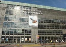 Lucerne, Switzerland - June 04, 2017: Museum of Art Lucerne Kun Stock Photography
