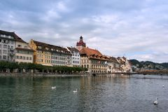 Lucerne, Switzerland Stock Images