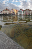 Lucerne, Switzerland - the Reuss River Royalty Free Stock Images