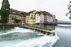 Lucerne in Switzerland. Stock Images