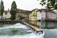 Lucerne in Switzerland. Stock Photo
