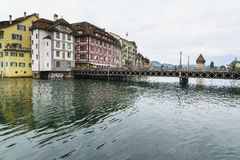 Lucerne in Switzerland. Stock Photography