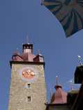 Lucerne tower Stock Image