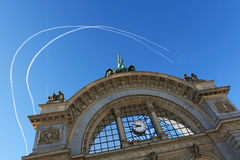 Lucerne Train Station Stock Photography