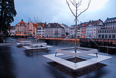 Lucerne Waterfront(Switzerland) Royalty Free Stock Photography