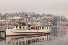 Lucerne in winter Stock Photos