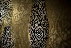 Luces árabes con las sombras Imágenes de archivo libres de regalías