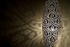 Luces árabes con las sombras Fotografía de archivo libre de regalías