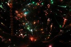 Luces ópticas 1 de fibra Imagen de archivo libre de regalías