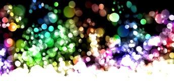 Luces abstractas Fotografía de archivo
