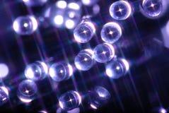 Luces abstractas foto de archivo