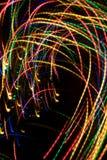 Luces abstractas Foto de archivo libre de regalías