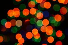 Luces abstractas Imágenes de archivo libres de regalías