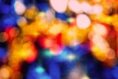 Luces abstractas borrosas del fondo Imagenes de archivo