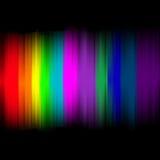 Luces abstractas con el fondo colorido Foto de archivo libre de regalías