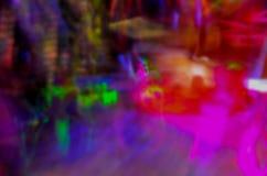 Luces abstractas de la danza Fotos de archivo libres de regalías