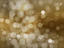 Luces abstractas de la fiesta stock de ilustración