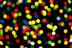 Luces abstractas de la magia del fondo Imágenes de archivo libres de regalías