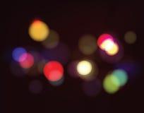 Luces abstractas del bokeh Imágenes de archivo libres de regalías