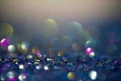 Luces abstractas del bokeh para el fondo Imagen de archivo libre de regalías