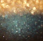 Luces abstractas del bokeh sobre fondo texturizado pizarra Fotos de archivo libres de regalías