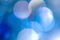 Luces abstractas hermosas del día de fiesta foto de archivo libre de regalías