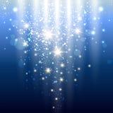 Luces azules Imágenes de archivo libres de regalías