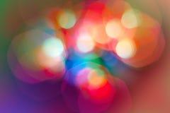 Luces borrosas Imagen de archivo libre de regalías