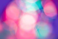 Luces borrosas Imágenes de archivo libres de regalías