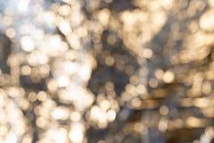 Luces borrosas abstractas Imágenes de archivo libres de regalías