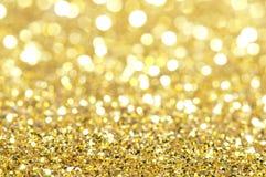 Luces borrosas brillantes del día de fiesta Imagen de archivo libre de regalías